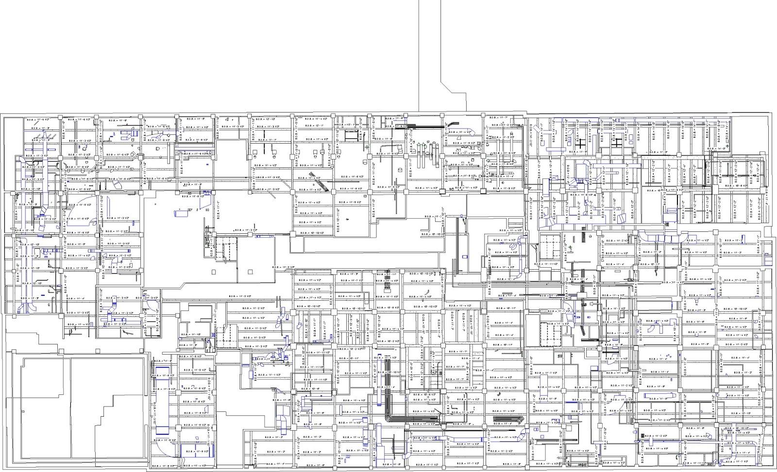 51 Madison Floors - Reflected Ceiling Plan - 3B