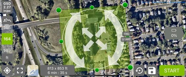 drone survey picture